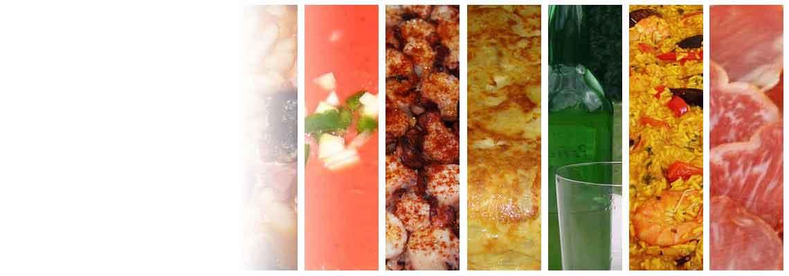 En vele andere producten in de Spaanse keuken