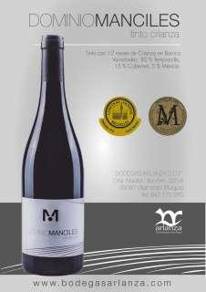 Rode wijn Dominio de Manciles, Crianza