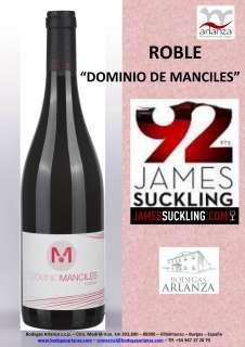 Rode wijn Dominio de Manciles, Roble