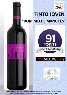 Rode wijn Dominio de Manciles, Tinto Joven