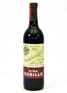 Rode wijn Viña Cubillo