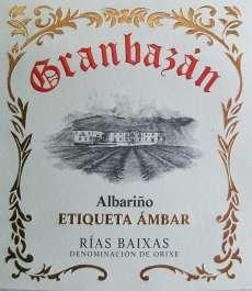Witte wijn Granbazan Etiqueta Ambar